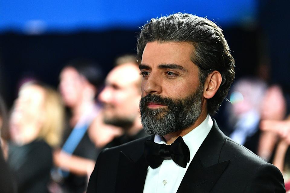 HOLLYWOOD, CALIFORNIA - FEBRUARY 09: In this handout photo provided by A.M.P.A.S. Oscar Isaac looks on backstage during the 92nd Annual Academy Awards at the Dolby Theatre on February 09, 2020 in Hollywood, California. (Photo by Richard Harbaugh - Handout/A.M.P.A.S. via Getty Images)