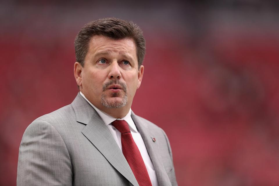 Michael Bidwill is the president of the Arizona Cardinals and son of majority owner Bill Bidwill. (Getty)