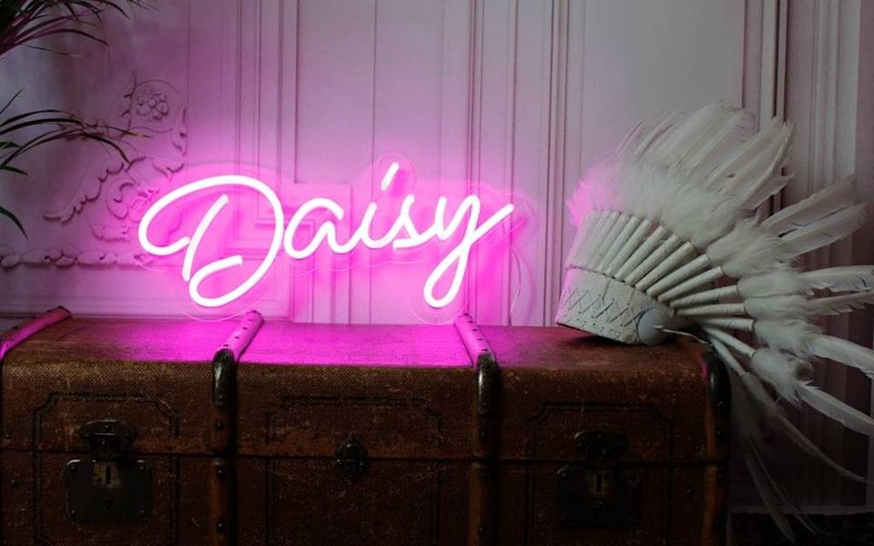Love Inc Bespoke Name LED Neon Light
