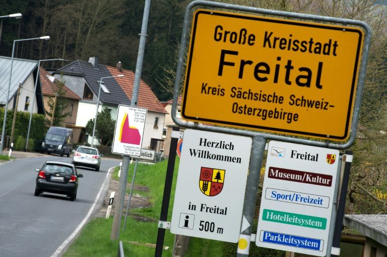 The eastern German town of Freital was making headlines in the summer of 2015, as images of rage-fuelled demonstrations against 'criminal foreigners' and 'asylum-seeking pigs' were beamed around the country