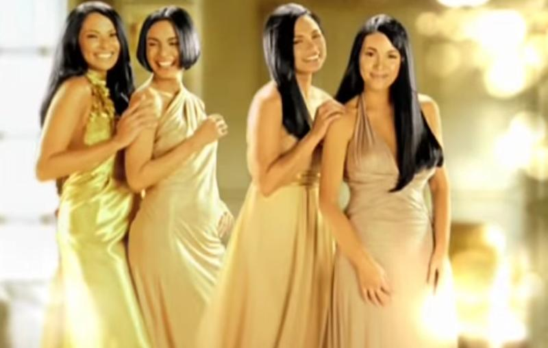 A Pantene commercial from the late 2000s featuring top Filipina actresses sporting straight hair remains the blueprint for most TV shampoo ads today. Screenshot from Pantene