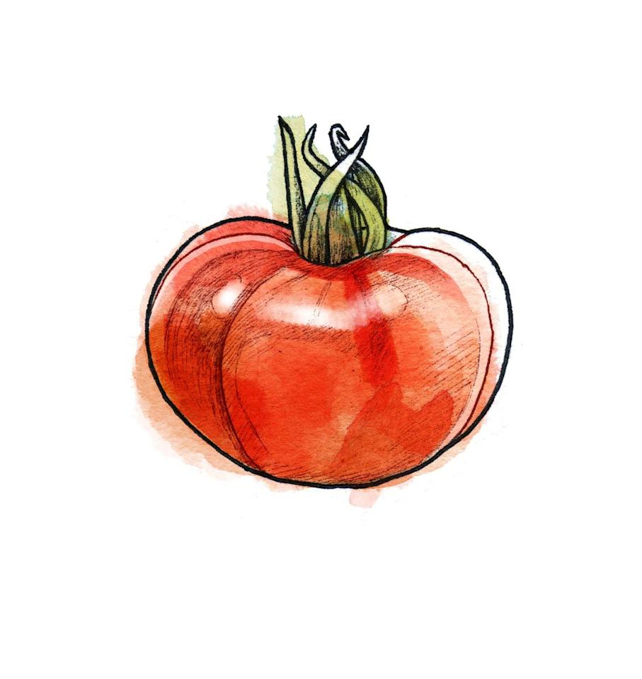 "<p>Large and meaty, this smooth red fruit is an excellent all-purpose tomato. Layer with mozzarella for a classic caprese, or slice and sandwich with bacon and lettuce for a quintessential BLT.</p> <p><strong>Recipe to try: <a href=""https://www.realsimple.com/food-recipes/browse-all-recipes/beefsteak-tomato-bread-salad"" target=""_blank"">Beefsteak Tomato Bread Salad</a></strong></p>"