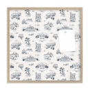 This photo provided by Minted shows a pin board. If the gift recipients have moved to Chicago, NY, San Francisco or Texas, Minted's designers have created cool toile papers for each, that are offered in framed pin boards – perfect for kitchens or home offices. (Minted via AP)