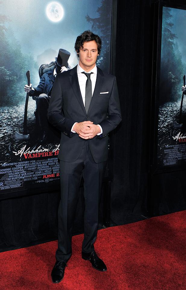 "Benjamin Walker attends the ""Abraham Lincoln: Vampire Slayer 3D"" New York Premiere at AMC Loews Lincoln Square 13 theater on June 18, 2012 in New York City."