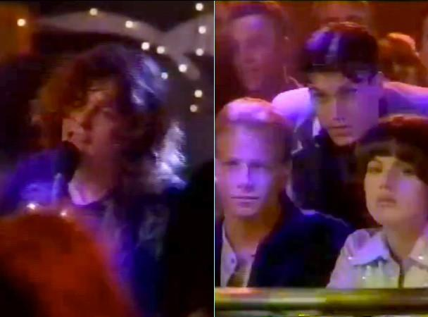 The Flaming Lips on 'Beverly Hills, 90210' in 1995. (Photos: YouTube)