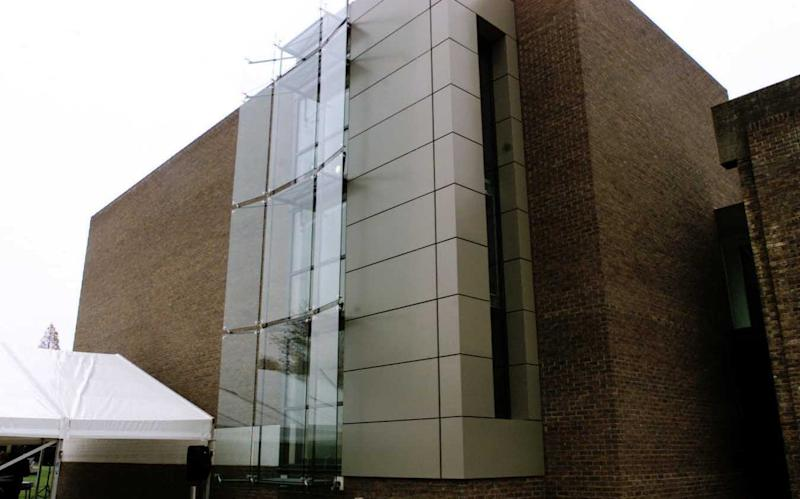 THE NEW WING OF THE CHURCHILL ARCHIVES CENTRE AT CHURCHILL COLLEGE,CAMBRIDGE - Credit: BRIAN SMITH