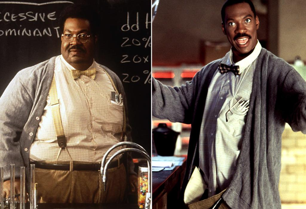 """<a href=""""http://movies.yahoo.com/movie/1800102142/info"""">THE NUTTY PROFESSOR</a> (1996)   Actor: <a href=""""http://movies.yahoo.com/movie/contributor/1800011536"""">Eddie Murphy</a>  Characters: Shy, kindhearted and rotund Professor Sherman Klump and his svelte, chemically-enhanced and ultra-aggressive alter ego Buddy Love (not to mention the extended Klump family)."""
