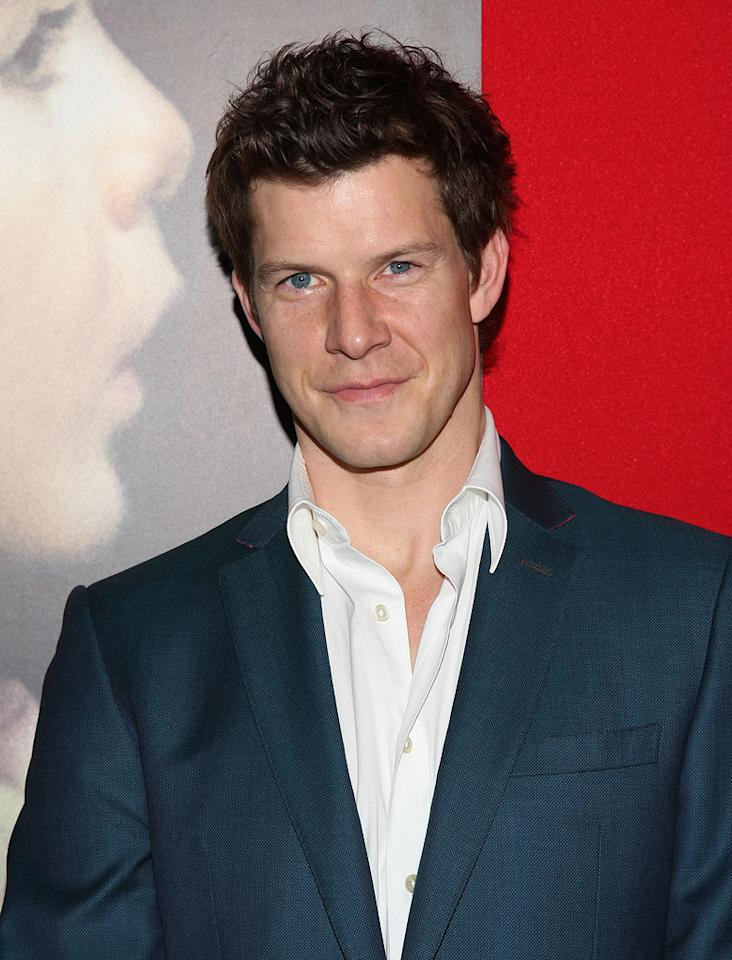 """<a href=""""http://movies.yahoo.com/movie/contributor/1800024780"""">Eric Mabius</a> at the New York City premiere of <a href=""""http://movies.yahoo.com/movie/1809947151/info"""">Miracle at St. Anna</a> - 09/22/2008"""