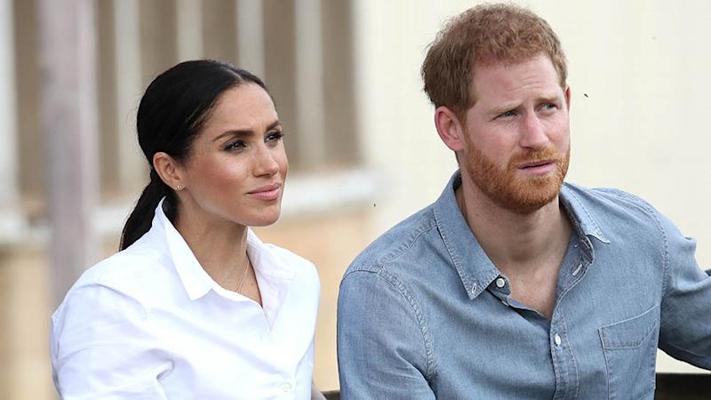 Prince Harry and Meghan Markle in Dubbo, Australia