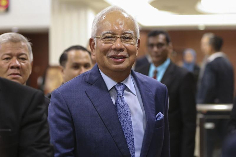 It is understood that Najib was called to the MACC's Putrajaya headquarters this morning for this case. ― Picture by Azneal Ishak