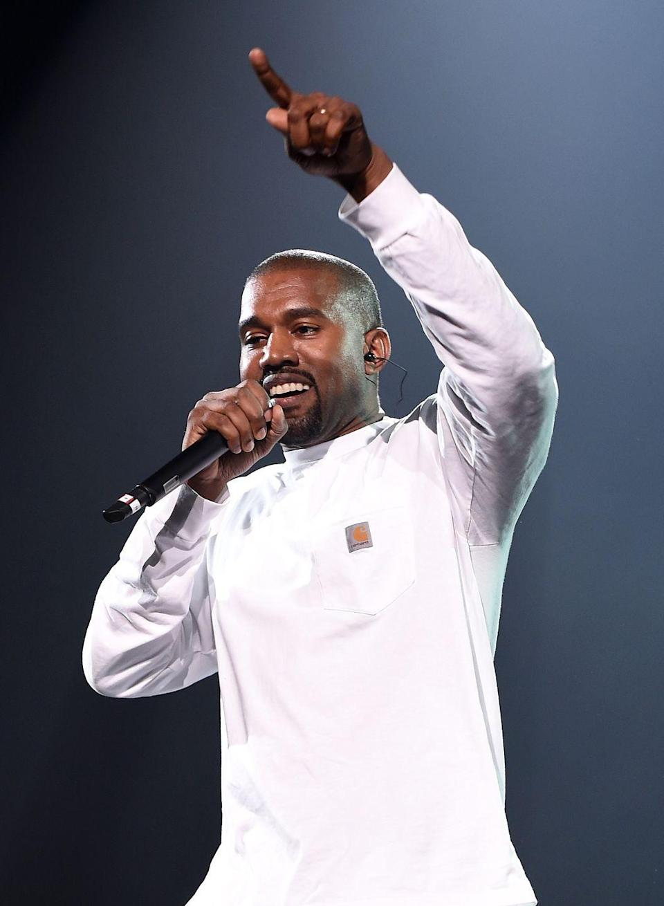 "<p>As a teen, Chicago native Kanye West worked at a Gap in the city. He wrote in an article for <em><a href=""https://www.papermag.com/kanye-west-in-his-own-words-1427550639.html?rebelltitem=3#rebelltitem3"" rel=""nofollow noopener"" target=""_blank"" data-ylk=""slk:Paper"" class=""link rapid-noclick-resp"">Paper</a></em> that he first started falling in love with clothes at that point. ""I don't think I had any desire to actually make clothes, but I always felt like that's what I wanted to be around. I loved the fabrics, I loved the colors, I loved the proportions,"" he said.</p><p>In a full-circle moment, <a href=""https://www.businessinsider.com/kanye-west-worked-at-gap-store-as-a-teen-2020-6"" rel=""nofollow noopener"" target=""_blank"" data-ylk=""slk:the Grammy winner and the clothing company"" class=""link rapid-noclick-resp"">the Grammy winner and the clothing company</a> announced they were teaming up for the new Yeezy line, scheduled to hit stores in 2021. </p>"