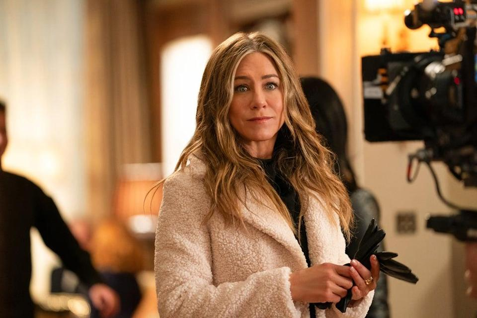 Undated Handout Photo from The Morning Show. Pictured: Jennifer Aniston as Alex Levy. See PA Feature SHOWBIZ TV The Morning Show. Picture credit should read: PA Photo/Courtesy of Apple TV+. WARNING: This picture must only be used to accompany PA Feature SHOWBIZ TV The Morning Show.
