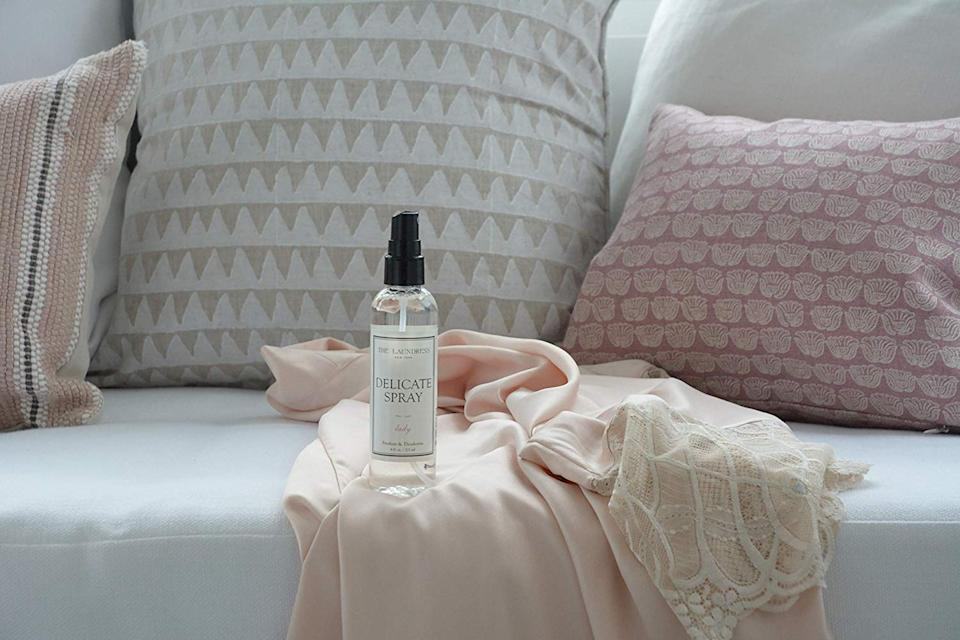 Go ahead: Spritz that favorite item and wear it again. We won't tell. (Photo: The Laundress)