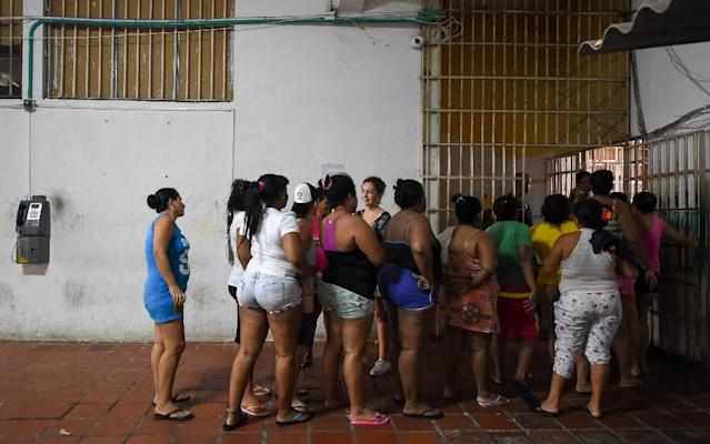 Like other prisons in Colombia, San Diego is overcrowded. Some 150 women share a space designed for just 100 (AFP Photo/Raul Arboleda)