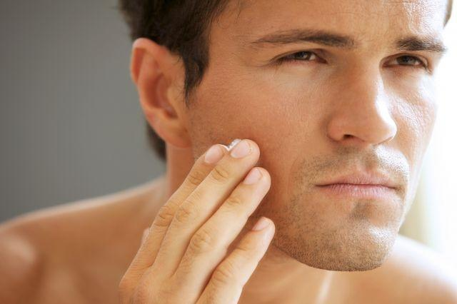 New research finds that women rate glowing skin as sexier than a strong jawline in men's faces