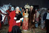 <p>Katie Couric, Al Roker, Ann Curry, and Matt Lauer show off their Halloween costumes on set of the TODAY show.</p>