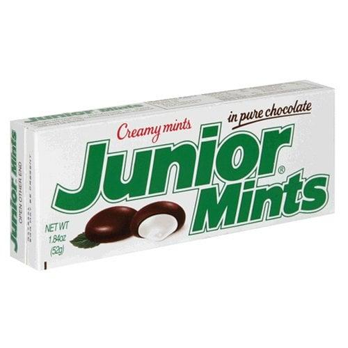 "<p>If you want a mess-free way to enjoy <a href=""https://www.popsugar.com/buy?url=https%3A%2F%2Fwww.amazon.com%2FJunior-Mints-1-84-Ounce-Boxes-Pack%2Fdp%2FB000V1JU7W&p_name=Junior%20Mints&retailer=amazon.com&evar1=yum%3Aus&evar9=37026598&evar98=https%3A%2F%2Fwww.popsugar.com%2Ffood%2Fphoto-gallery%2F37026598%2Fimage%2F37027811%2FFrozen-Junior-Mints&list1=dessert%2Csnacks%2Cfood%20trends%2Cfood%20humor&prop13=api&pdata=1"" rel=""nofollow"" data-shoppable-link=""1"" target=""_blank"" class=""ga-track"" data-ga-category=""Related"" data-ga-label=""https://www.amazon.com/Junior-Mints-1-84-Ounce-Boxes-Pack/dp/B000V1JU7W"" data-ga-action=""In-Line Links"">Junior Mints</a> during a movie, pop them in the freezer. They're cool in more ways than one. </p>"