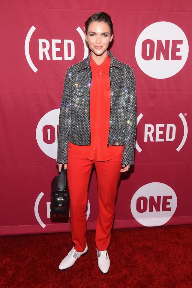 <p>Is this not the jacket of dreams? Just look how it sparkles. [Photo: Getty] </p>