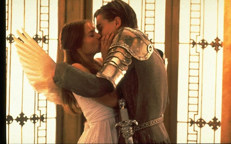 Claire Danes and Leonardo DiCaprio in a scene from Film Romeo and Juliet  - Credit: Film Stills/Film Stills