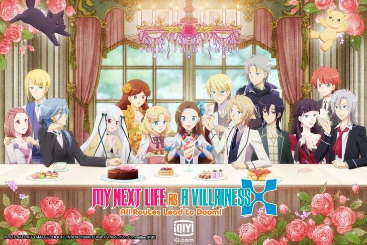 """Poster anime """"My Next Life as a Villainess: All Routes Lead to Doom!"""" (ANTARA/HO)"""