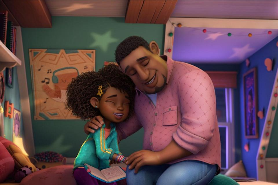 """<strong><em>Karma's World</em></strong><br><br>Created and executive produced by rapper and actor Ludacris, this animated children's series is a coming-of-age story about Karma, a tenacious 10-year-old Black girl who is an aspiring musician, songwriter and rapper. Inspired by Ludacris' actual oldest daughter, it has been over a decade in the making and explores the power of music and chasing our dreams. <br><br>Available 15th October<span class=""""copyright"""">Photo Courtesy of Netflix.</span>"""