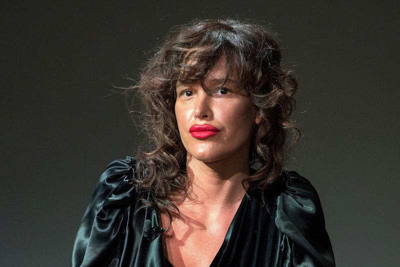 Paz de la Huerta has spoken to the NYPD about her allegations against Harvey Weinstein. (Mike Pont via Getty Images)
