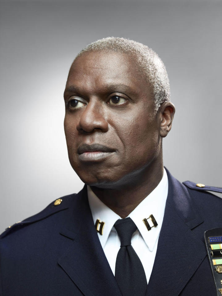 """Brooklyn Nine-Nine"": Emmy Award winner Andre Braugher as Captain Ray Holt in the new single-camera workplace comedy ""Brooklyn Nine-Nine"" premiering this fall on FOX."