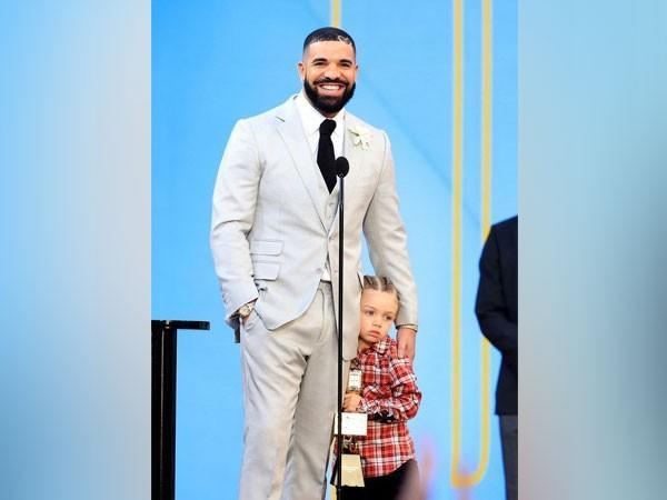 Drake and his son Adonis (Image Source: Instagram)