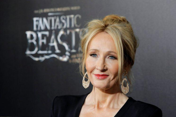 Rowling... praises Johnny Depp's performance in Fantastic Beasts - Credit: Reuters