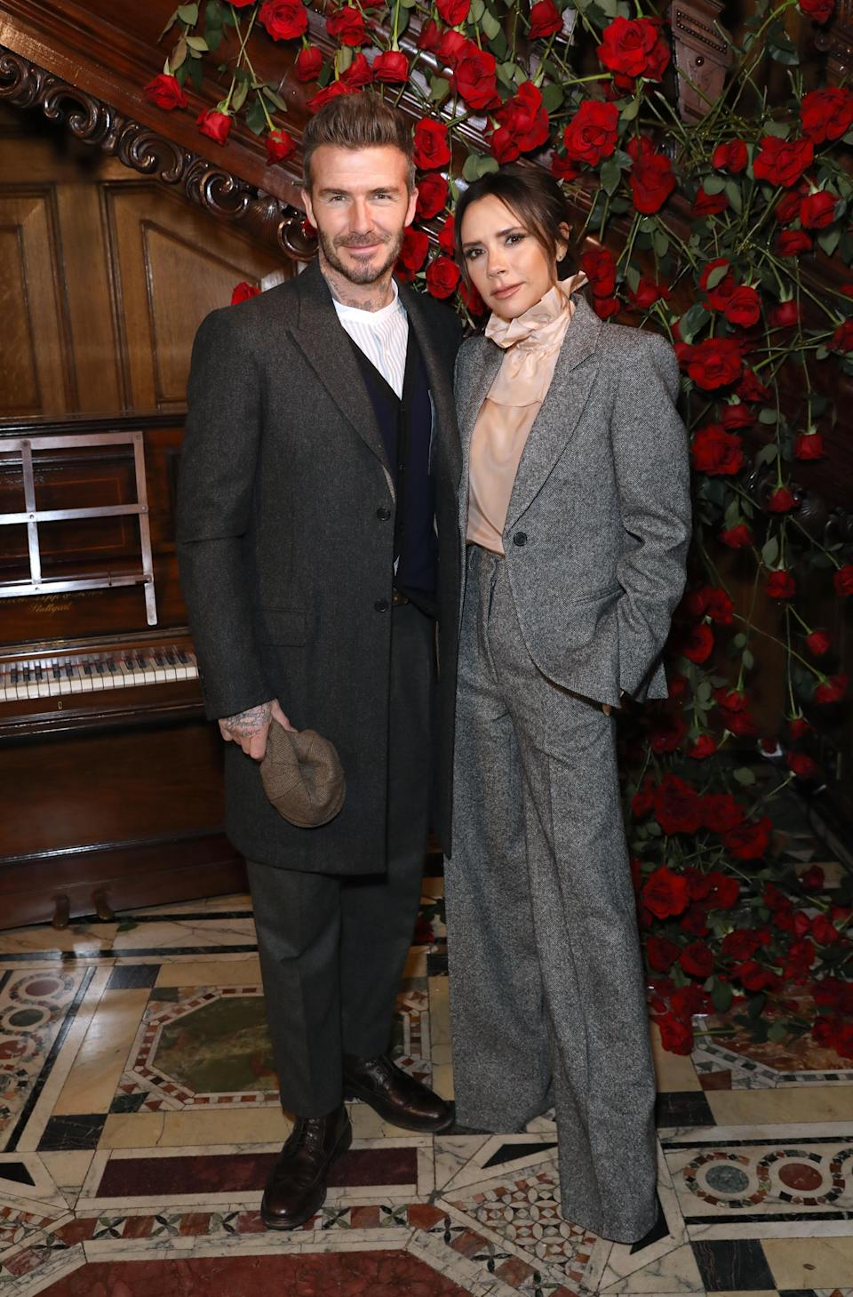 <p>On January 6, Victoria Beckham supported her husband David at the Kent & Curwen presentation during London Fashion Week Men's. We have to be honest, we don't know who looked more stylish… <em>[Photo: Getty]</em> </p>