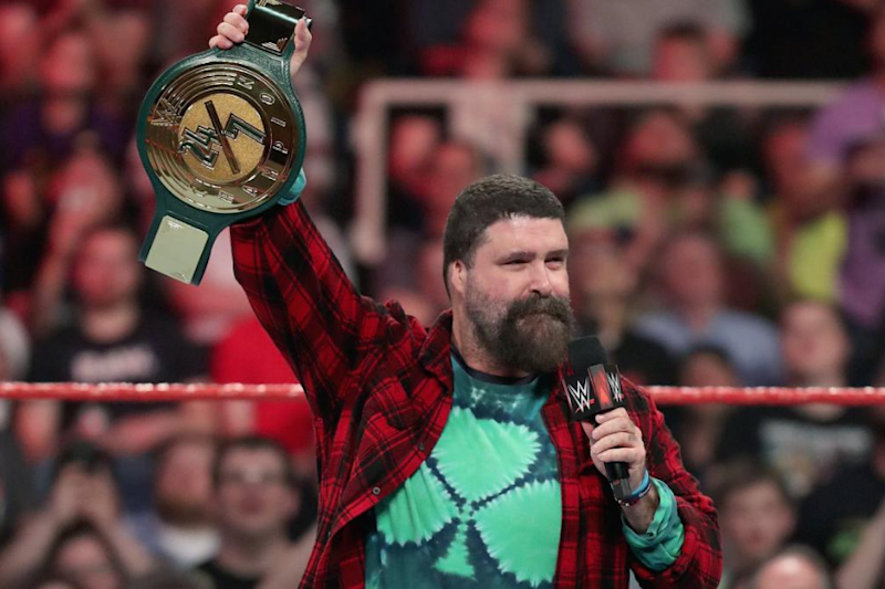 WWE RAW: Hall of Famer Mick Foley Introduces New 24/7 Title
