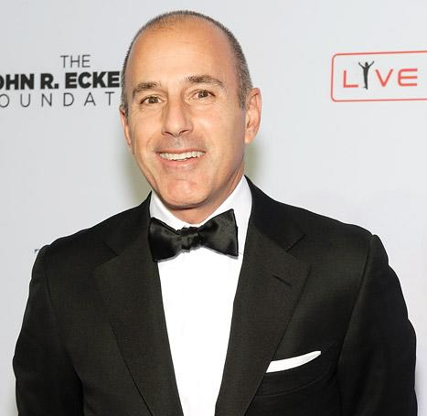 Matt Lauer Covered Tab for Today Show Holiday Party: Report