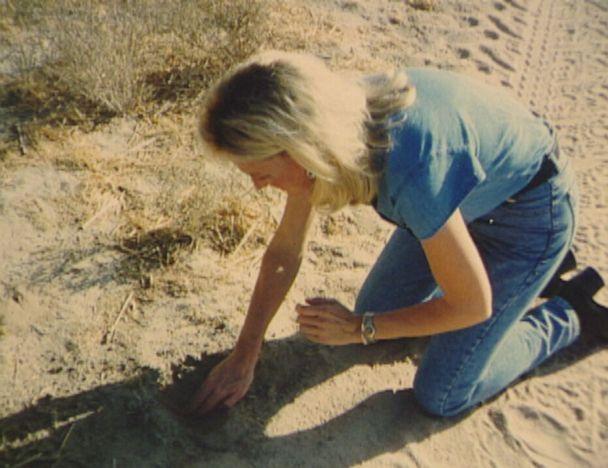 PHOTO: Erin Brockovich out in the field at an unknown date. (Courtesy of Erin Brockovich)