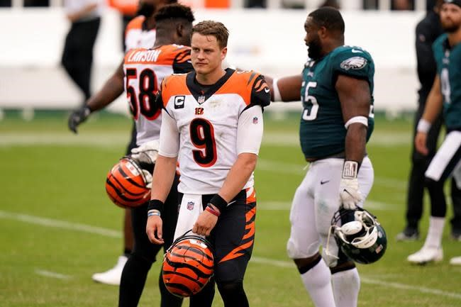 'No moral victories here': Tie disgusts Burrow, Bengals