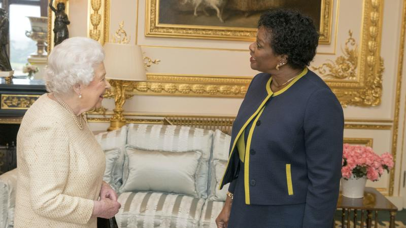 Queen's removal as head of state is matter for people of Barbados, says palace