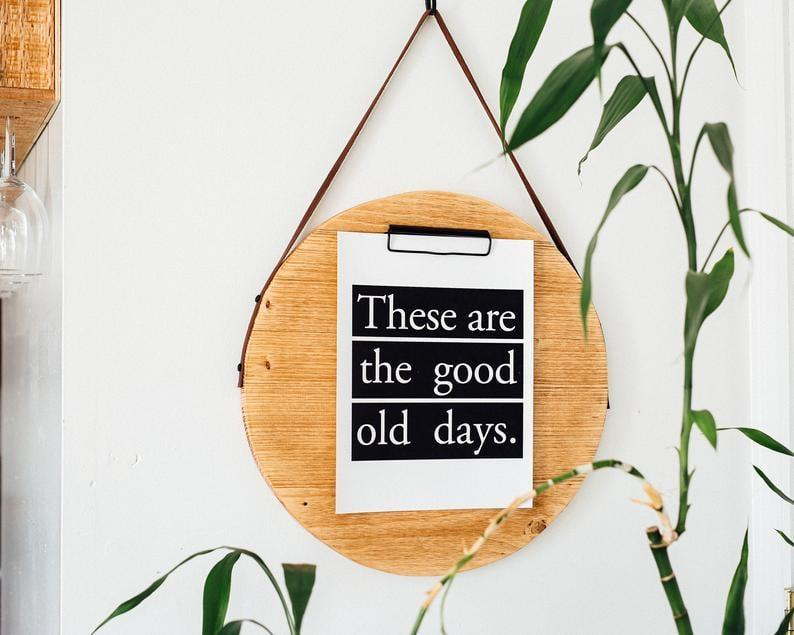 <p>They'll save all their positive mantras on this <span>The Heart Department Wooden Clipboard</span> ($35-$41, originally $44-$52).</p>