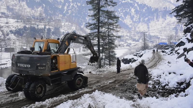 More bodies found after avalanches in Pakistan-administered Kashmir