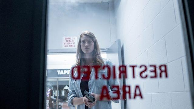 Alyssa Sutherland as Eve Copeland in Spike's 'The Mist' (Photo Credit: Spike TV)
