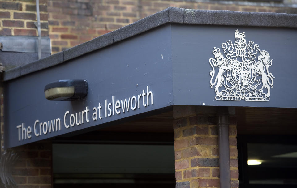 General view of Isleworth Crown Court, London