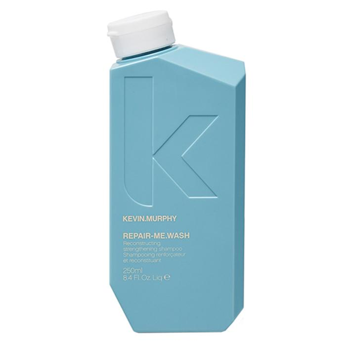 """""""The products you use every day tend to have the most impact on whether or not your hair splits and breaks, so I like to make sure my clients are using high-quality, strengthening shampoos, like Kevin Murphy Repair Me Wash. It binds to the hair shaft to strengthen hair and increase its shine, so it's great for rough, textured and prone-to-damage hair."""" <em>—<strong>Calvin Louis</strong>, hairstylist and founder of <a rel=""""nofollow"""" href=""""https://www.yelp.com/biz/maneframe-los-angeles-beverly-hills"""">ManeFrame</a> in Los Angeles</em>    Kevin Murphy Repair Me Wash Shampoo, $44; at <a rel=""""nofollow"""" href=""""http://kevinmurphy.com.au/product/repair-me-wash/"""">Kevin Murphy</a>"""
