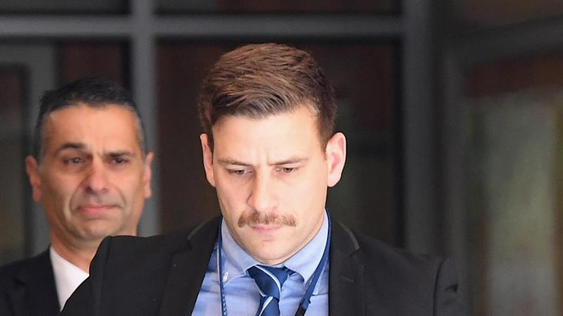 Senior Constable Jake Semmel says he incorrectly filled out a bail form for James Gargaloulas
