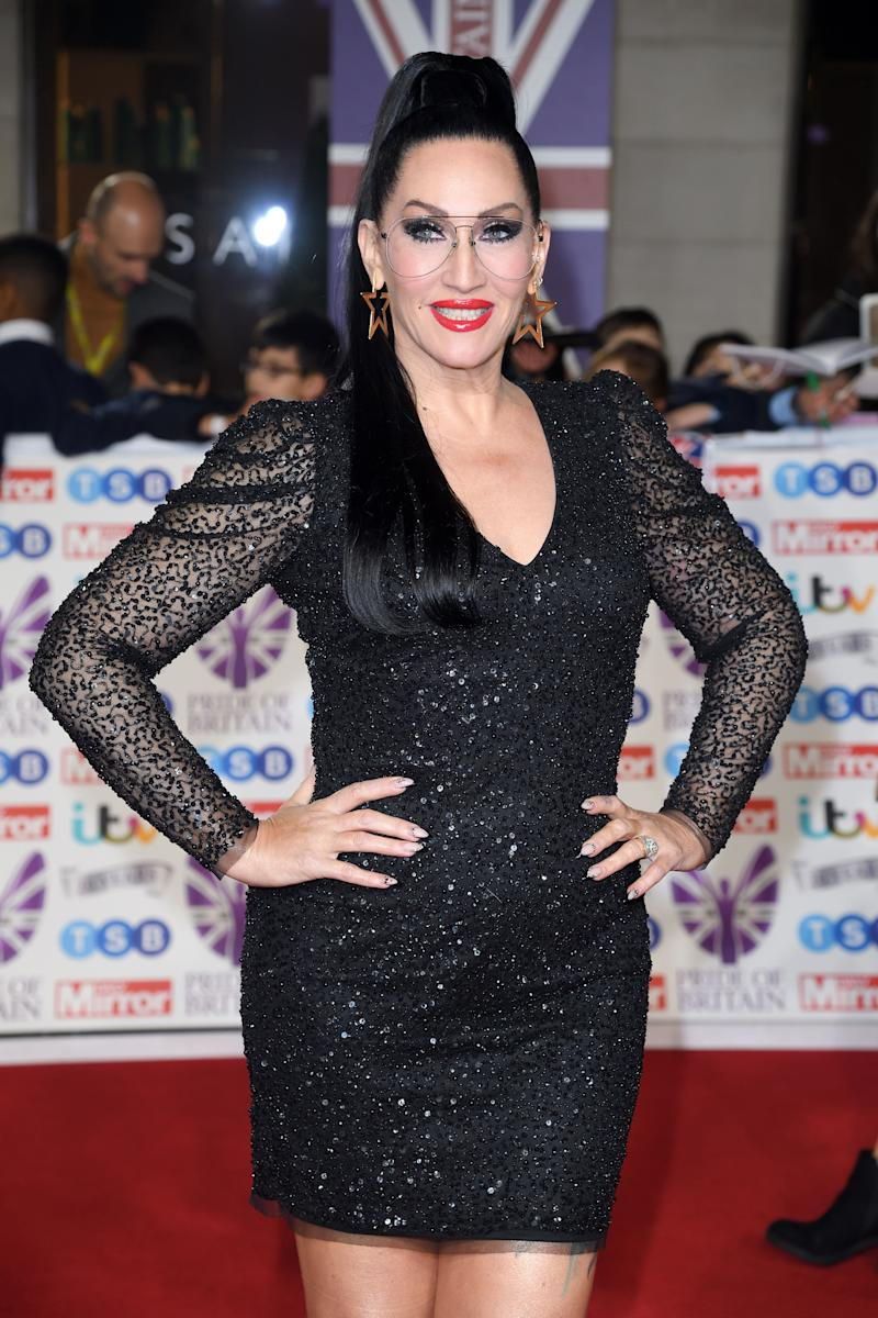 Michelle Visage on the Pride Of Britain red carpet (Photo: Karwai Tang via Getty Images)