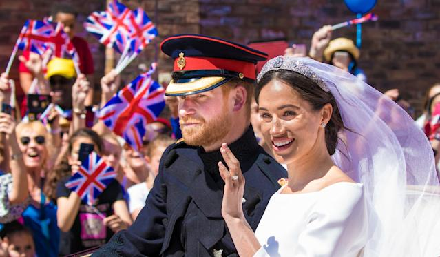Texts quoted in legal documents and reported in the Mail took place mostly in the run up to Meghan and Harry's wedding in 2018. (Photo by DPPA/Sipa USA)