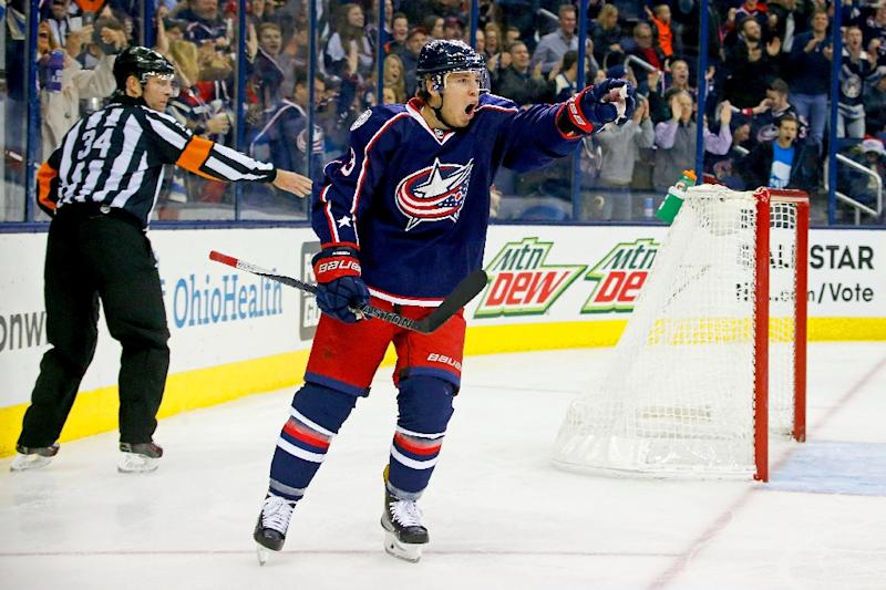 Blue Jackets win 15th in row, end Wild 12-game streak