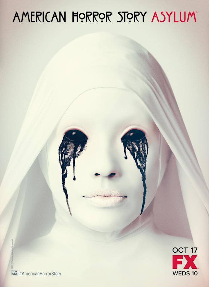 Look into the eyes of American Horror Story: Asylum. What do you see?