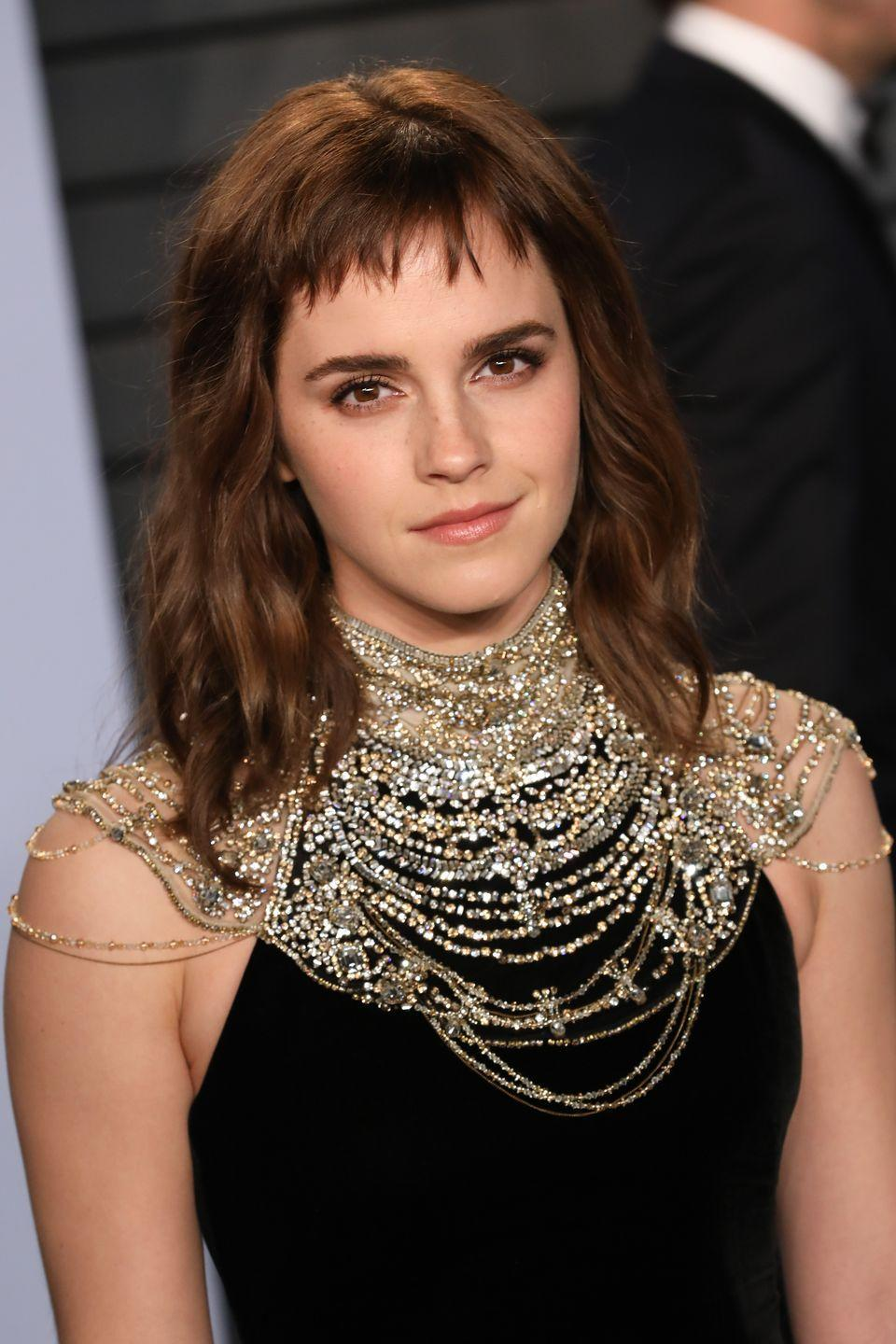 <p>Emma rose to fame as <em>Harry Potter</em>'s Hermoine Granger, a role she took on when she was 11 years old. Since then, she's done campaigns for Burberry and Lancome, and also works as a UN Women Goodwill ambassador. </p>
