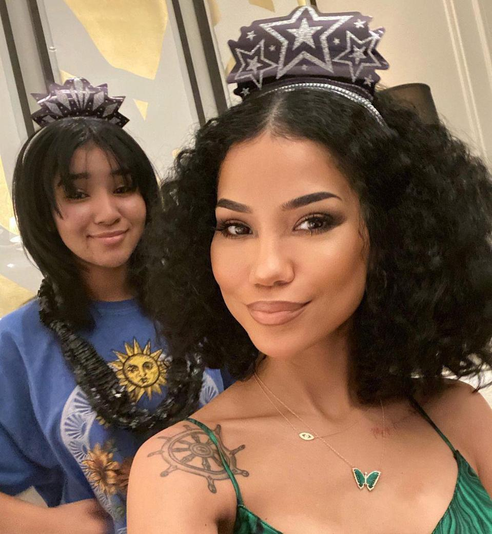 """<p><a href=""""https://people.com/music/jhene-aiko-on-overcoming-addiction-unhealed-trauma-33-birthday/"""" rel=""""nofollow noopener"""" target=""""_blank"""" data-ylk=""""slk:Jhene Aiko"""" class=""""link rapid-noclick-resp"""">Jhene Aiko</a> puts as much focus into her career as she does caring for her daughter. </p> <p>The Grammy nominated singer, 33, became a mother at 20 when she gave birth to her only child Namiko Love, 12, but didn't let that make her take a backseat to pursing her musical career. She opened up about her career and motherhood to <a href=""""https://www.crfashionbook.com/celebrity/a9653820/jhene-aiko/"""" rel=""""nofollow noopener"""" target=""""_blank"""" data-ylk=""""slk:CR Fashion Book"""" class=""""link rapid-noclick-resp""""><i>CR Fashion Book</i></a>.</p> <p>""""I never intended to have a baby so young, but as soon as I found out I was pregnant, I was overwhelmed with a new focus and drive,"""" said Aiko. """"I knew I didn't want a regular job, I wanted to provide a life for me and my daughter that was beyond myself.""""</p> <p>""""Everything changed when I was 20 and got unexpectedly pregnant. It made me focus and connect with who I was and who I wanted to be. While Namiko was still in my belly, I did my first mixtape, signed a new record deal with Def Jam—and here we are today.""""</p>"""