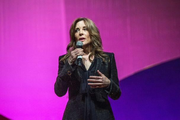 PHOTO: Marianne Williamson seen on day three of Summit LA17 in Downtown Los Angeles's Historic Broadway Theater District, Nov. 5, 2017, in Los Angeles. (Amy Harris/Invision/AP, FILE)
