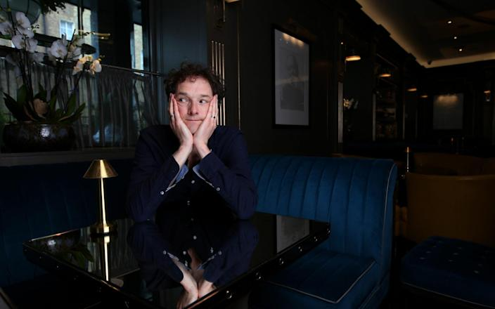 British actor, writer and director Chris Addison - Clara Molden for The Telegraph