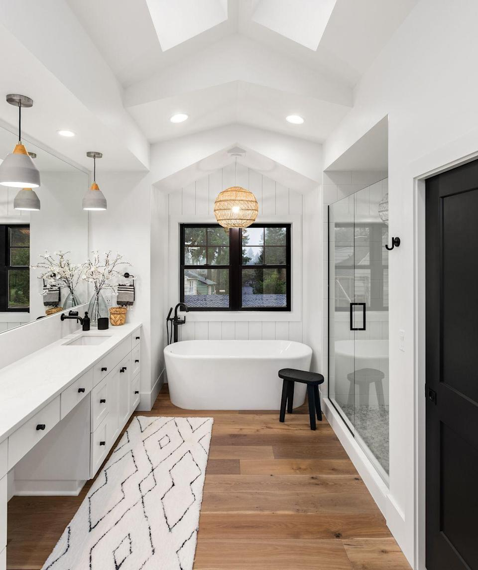 <p>Bathroom fans can help reduce moisture and prevent the growth of mold. Consider installing a fan with a separate timer that can continue to remove moisture after you turn out the light. A little common sense goes a long way. If a bathroom smells like mold or you can see water spots, you need to reduce the moisture.</p>